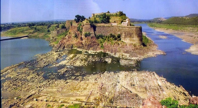 Gagron Fort in Jhalawar, Rajasthan  IMAGES, GIF, ANIMATED GIF, WALLPAPER, STICKER FOR WHATSAPP & FACEBOOK