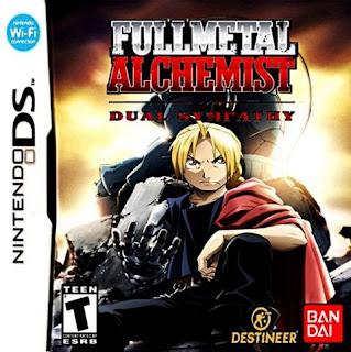 Fullmetal Alchemist: Dual Sympathy, NDS, Español, Mega, Mediafire