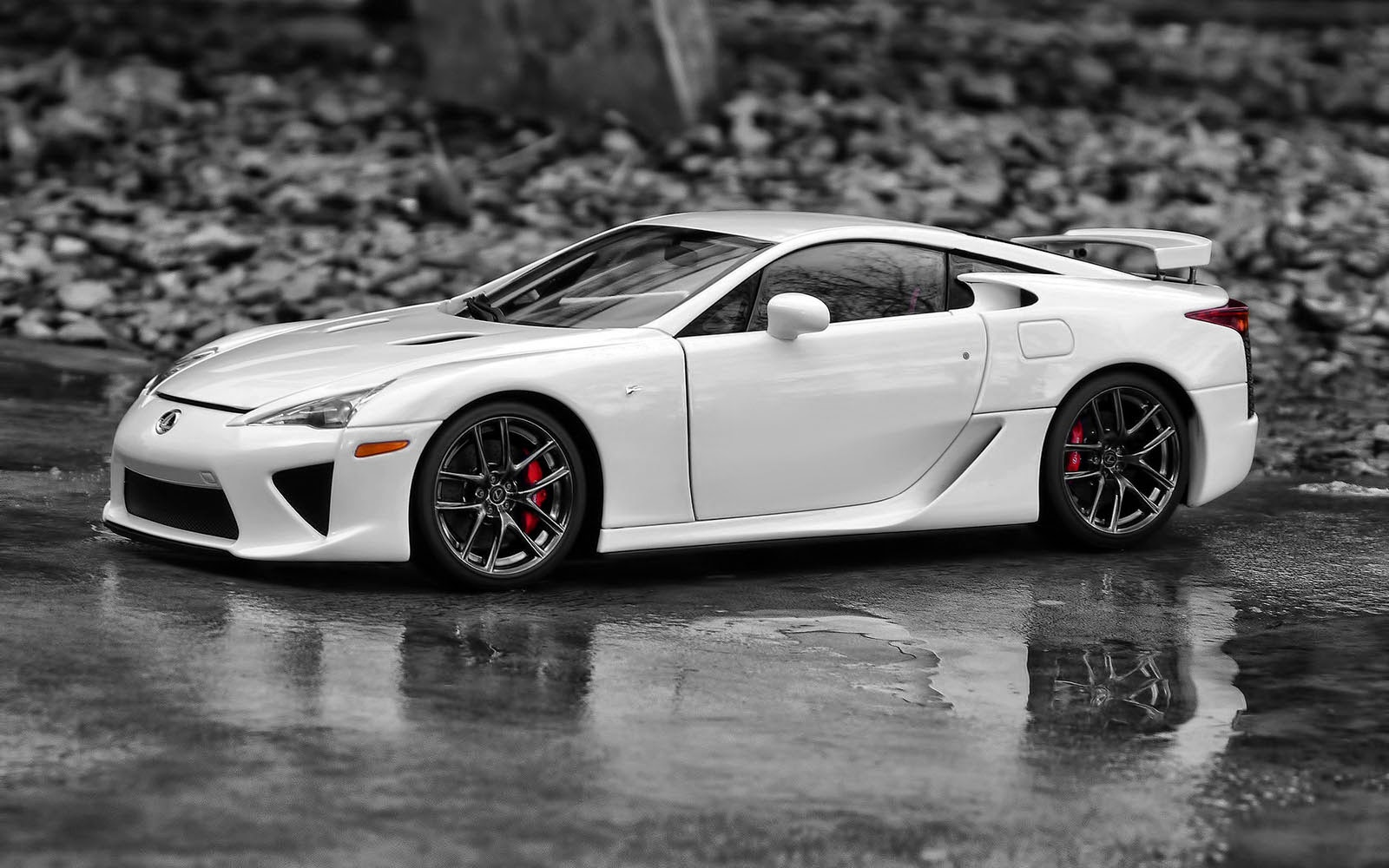 wallpapers: Lexus LFA Wallpapers