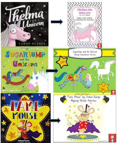 "A new resource for ""Sugarplum and the Unicorn"" by Julia Donaldson"