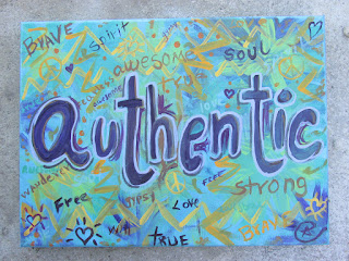 Motivational Quotes  hand painted by eileenaart