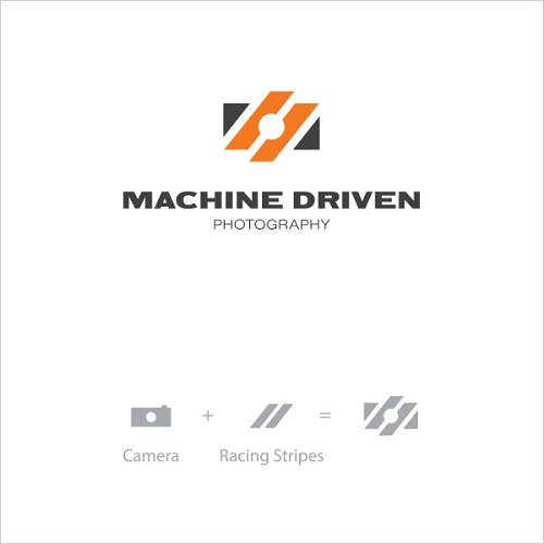 Logo Example - Machine Driven Photography