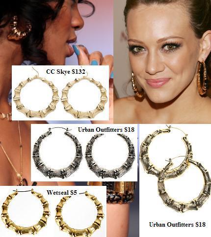 Bamboo Earrings For 1