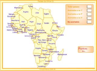 Paises De Africa Mapa Interactivo.Mi Rincon De Estudio Paises De Africa Mapa Interactivo