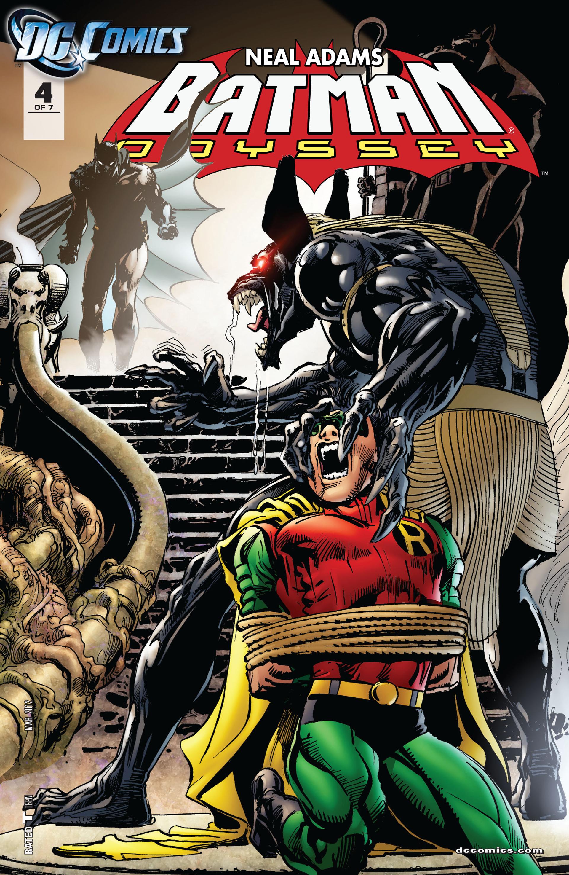 Batman: Odyssey (2011) 4 Page 1