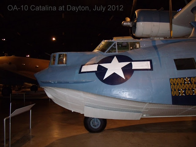 Catalina amphibian cockpit and forward hull photo