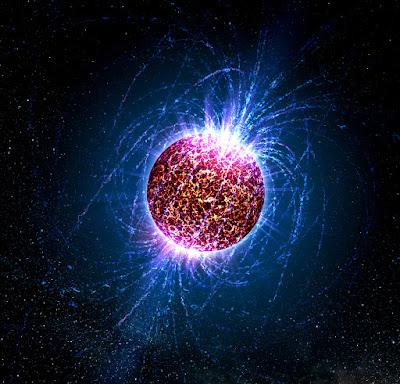 مغناطيس,فضاء,نجوم,نيترونية,إنفجار,سوبرنوفا,مجال,الأرض,الكون