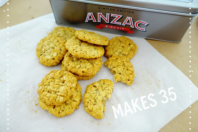 Crunchy Anzac Biscuits Donna Hay Recipe