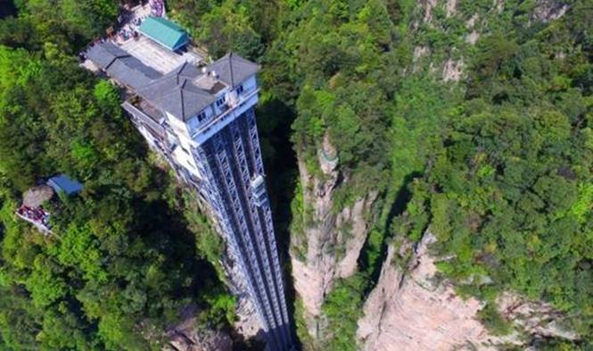 Pesona Lift Bailong, Lift Tertinggi di Alam Terbuka