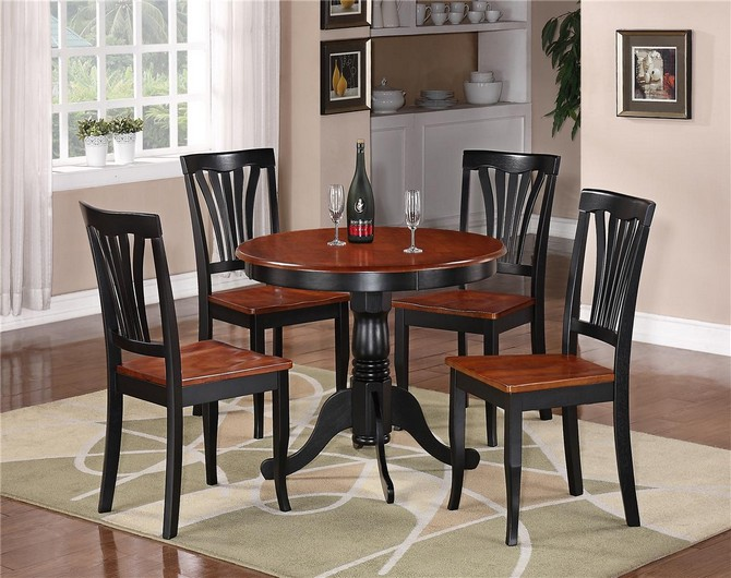 kitchen table and 4 chairs for small kitchen