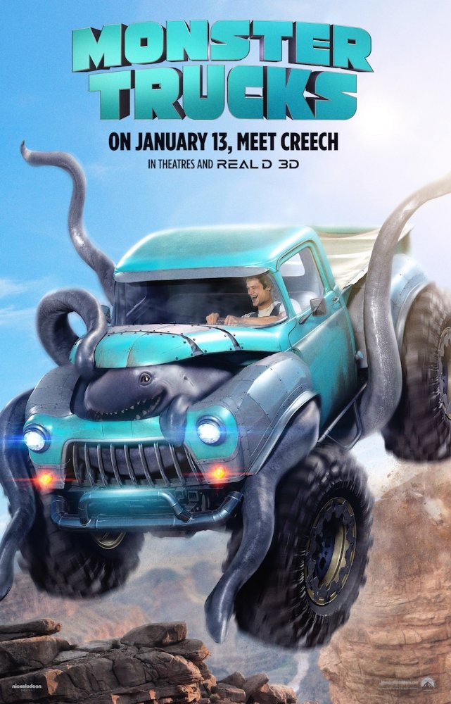 Monster Trucks (2017) Subtitle Indonesia – BluRay 1080p