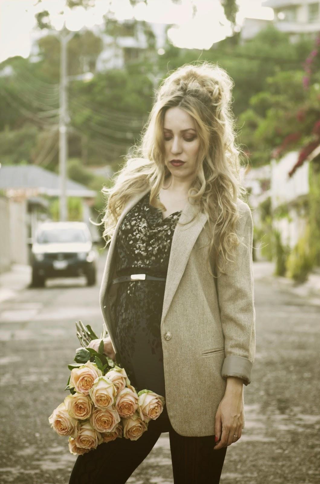 como vestirse a la moda durante el embarazo