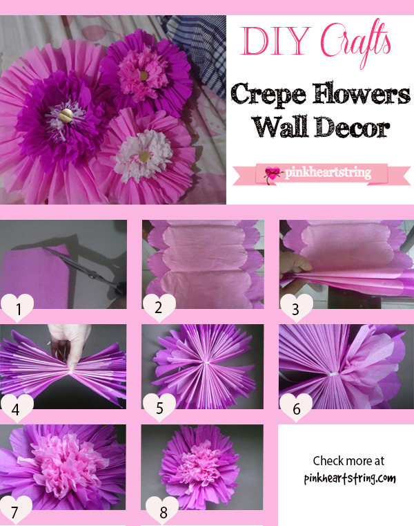 How to Make Crepe Paper Flower