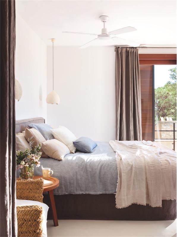 estilo mediterraneo dormitorio chicanddeco