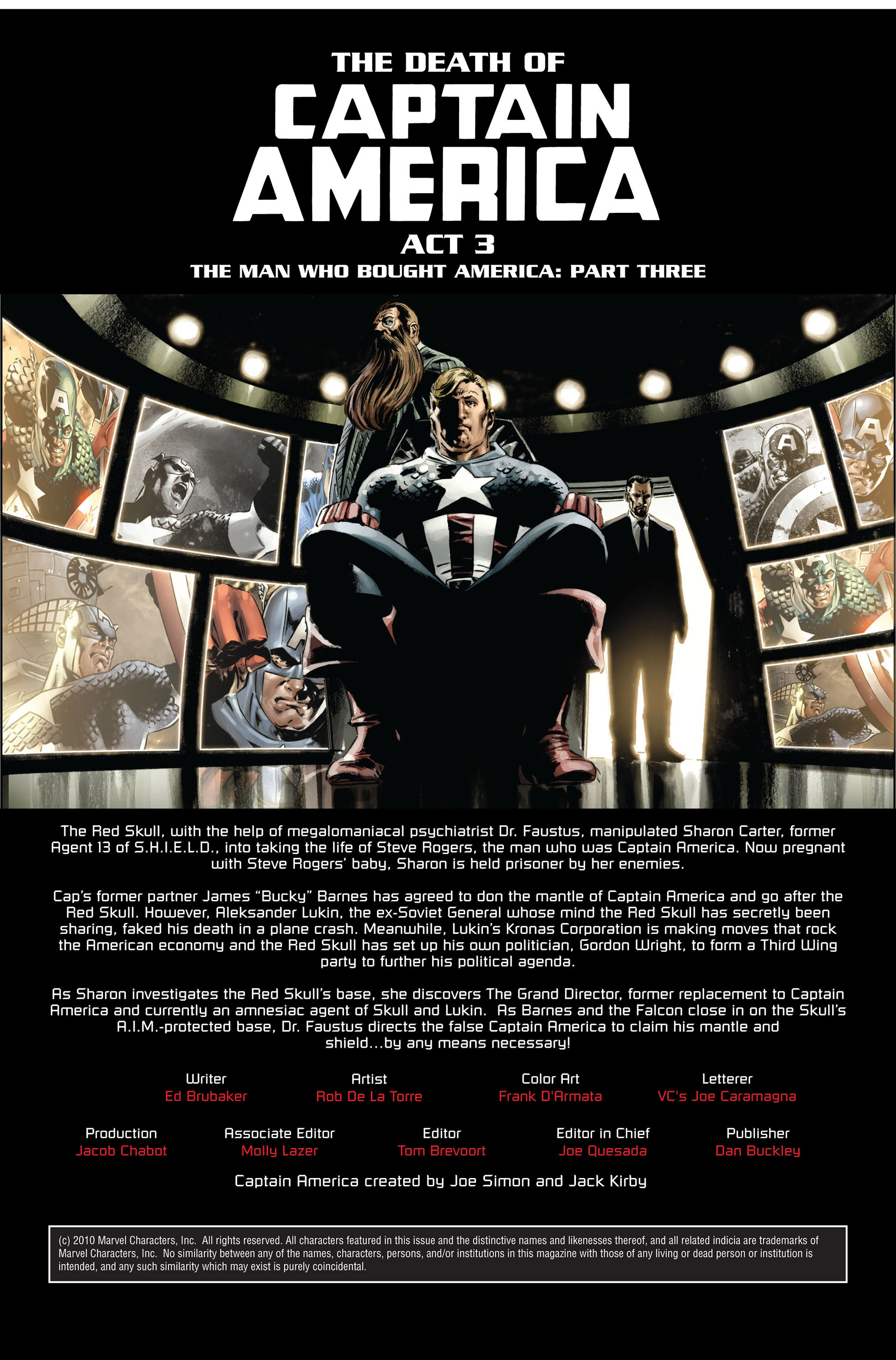 Captain America (2005) Issue #39 #39 - English 2