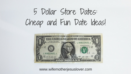 Dating ideas for under a dollar