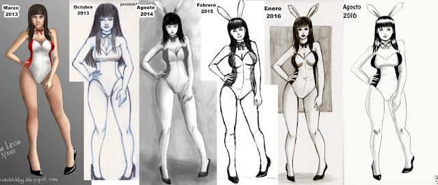 Comparación de dibujos