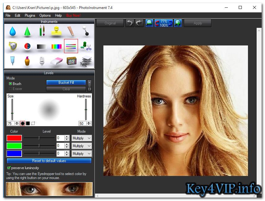 PhotoInstrument 7.4 Build 824 Full Key - Ma thuật hình ảnh với vài click chuột