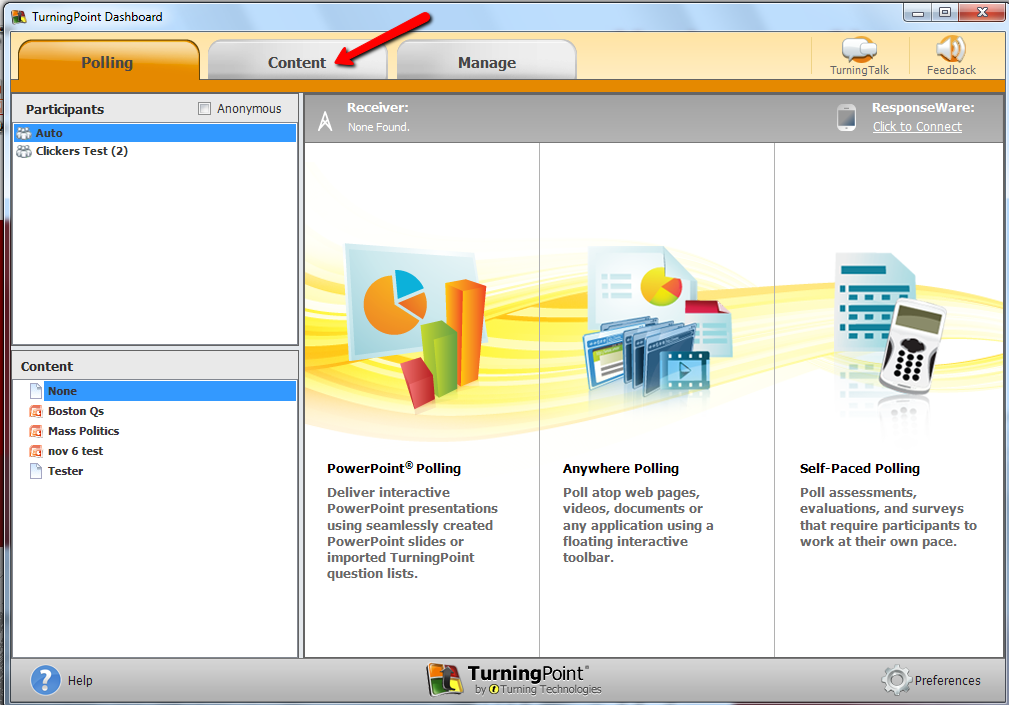 converting existing powerpoint slides to turningpoint slides neu