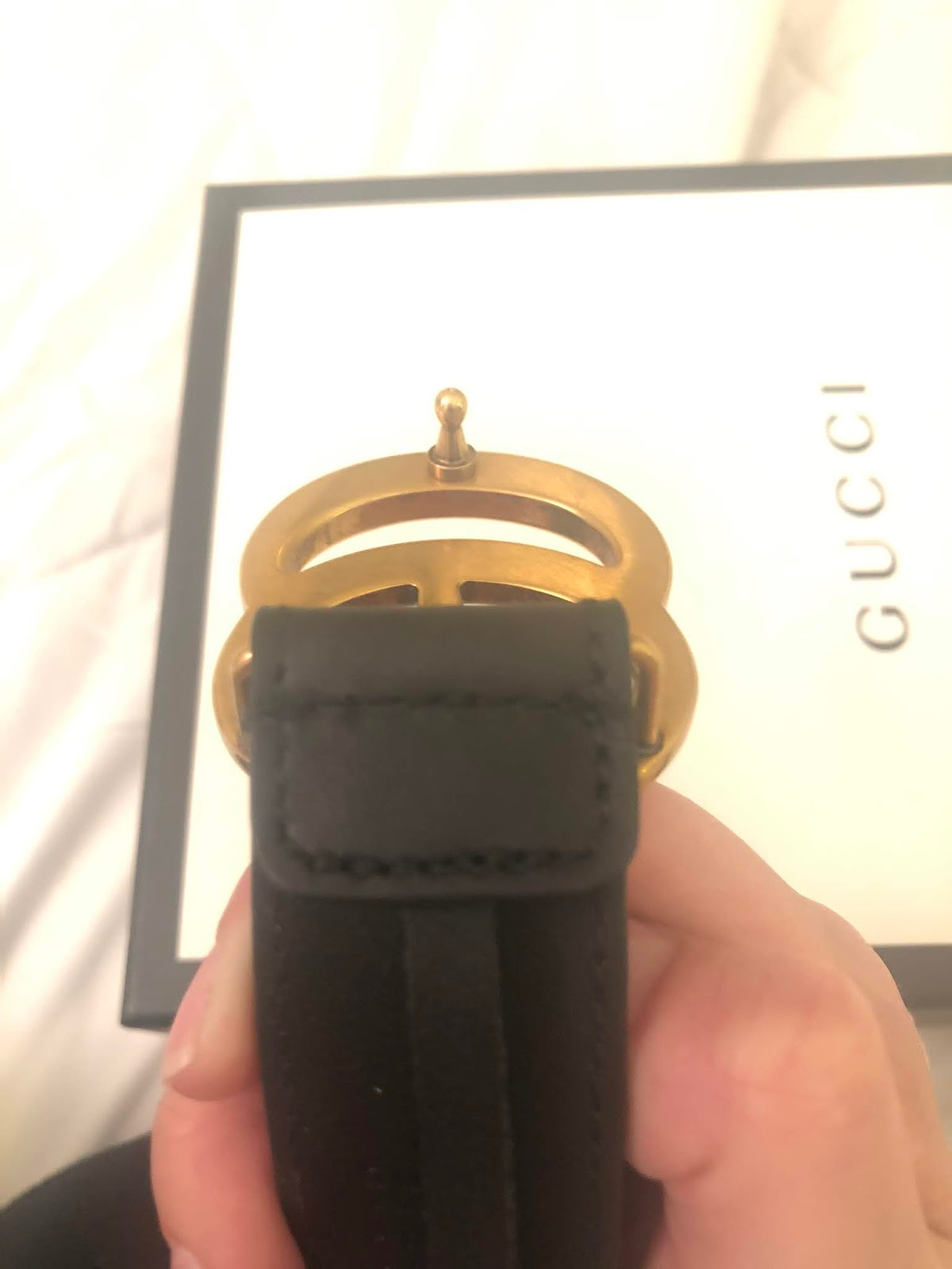 Gucci Belt Serial Number >> 12 Ways To Tell If Your Gucci Belt Is Fake Her Closet Image