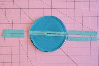 Cara Membuat Pouch dompet Headset Sederhana dari kain flanel