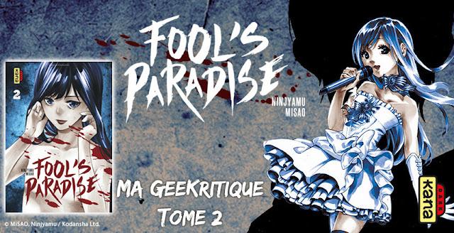 [GeeKritique] Mon avis sur Fool's Paradise Tome 2