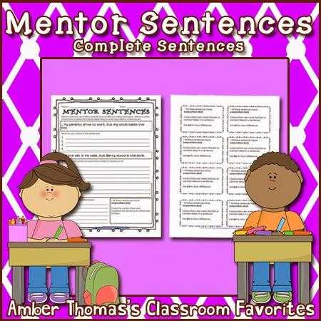 http://www.teacherspayteachers.com/Product/Mentor-Sentences-Complete-Sentences-FREE-1044939