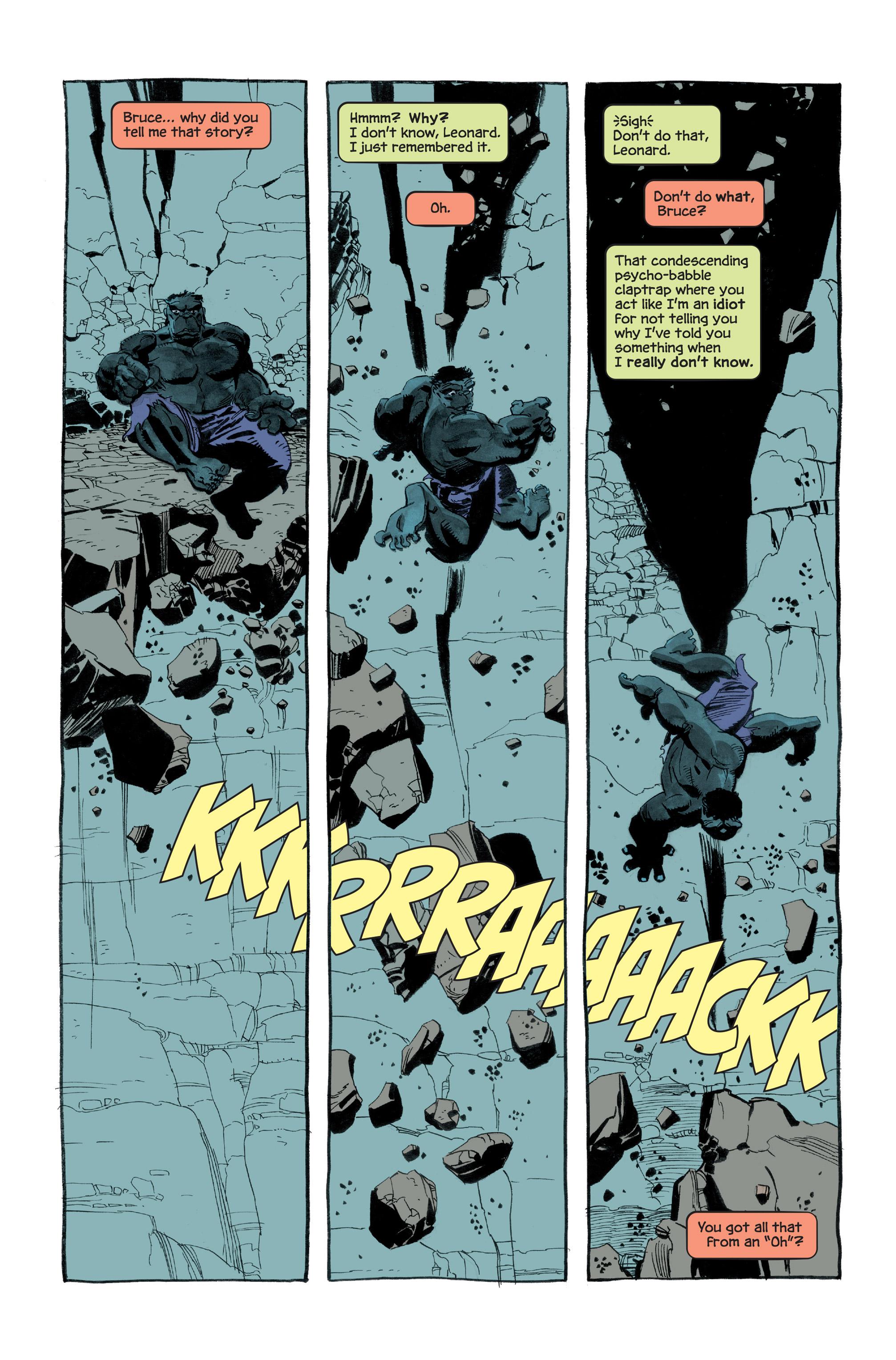 Read online Hulk: Gray comic -  Issue #3 - 8