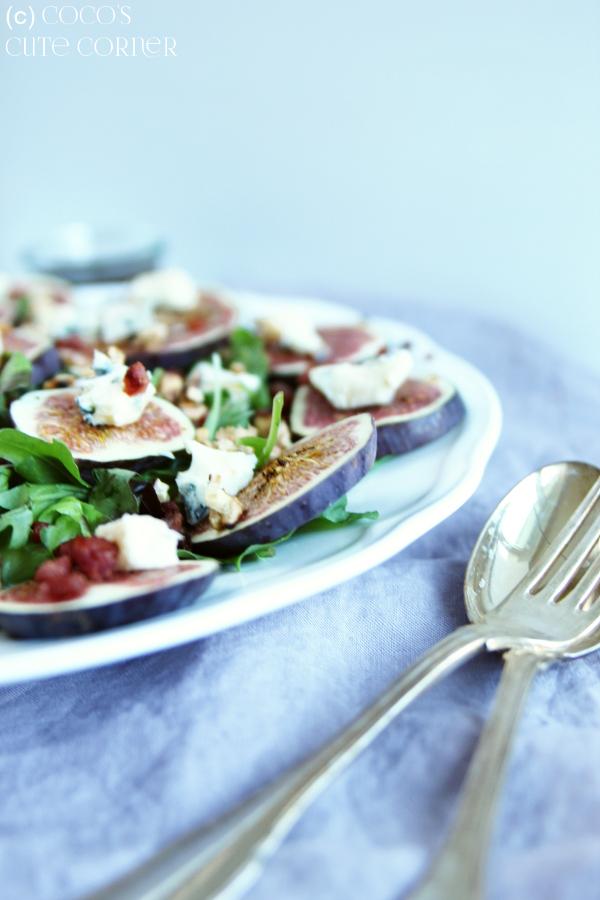 Coco\'s Cute Corner: Salat mit Feigen und Castello Blue - ein erster ...