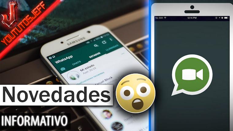 Novedades Whatsapp - Mas poder para administradores, videollamadas en grupo y mas