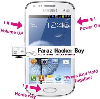 Samsung Pattern Lock Unlock Buttons - Faraz Hacker Boy