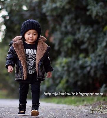 Model Jaket Kulit Anak Balita terbaru laki laki