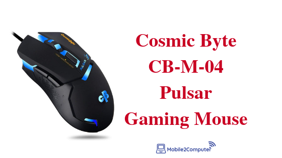 Cosmic Byte CB-M-04 Budget gaming mouse