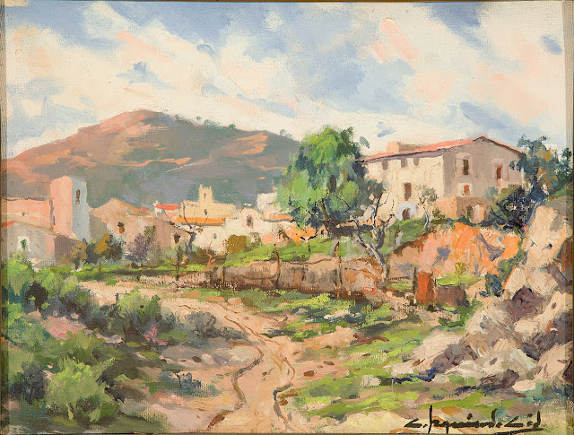 Carlos Izquierdo Cid, Paisajistas españoles, Paisajes de Carlos  Izquierdo, Pintor español, Pintores de Madrid, Pintor Carlos Izquierdo