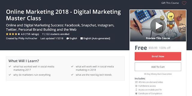Online Marketing 2018