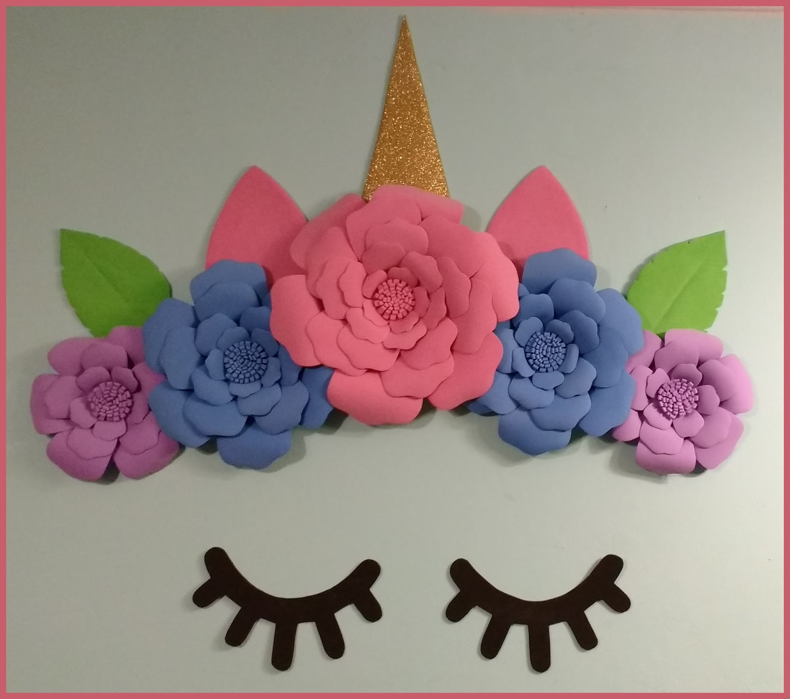 onaily unicornio decoracion para pared
