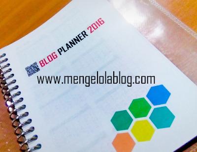 Download gratis Blog Planner 2016 - agenda ngeblog untuk para blogger