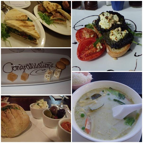 Australien, Essen, Dessert, Toast, Pesto, Ziegenkäse, Tomaten, Brot, Platte, asiatisch, Curry