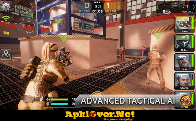 Combat Squad MOD APK unlimited ammo