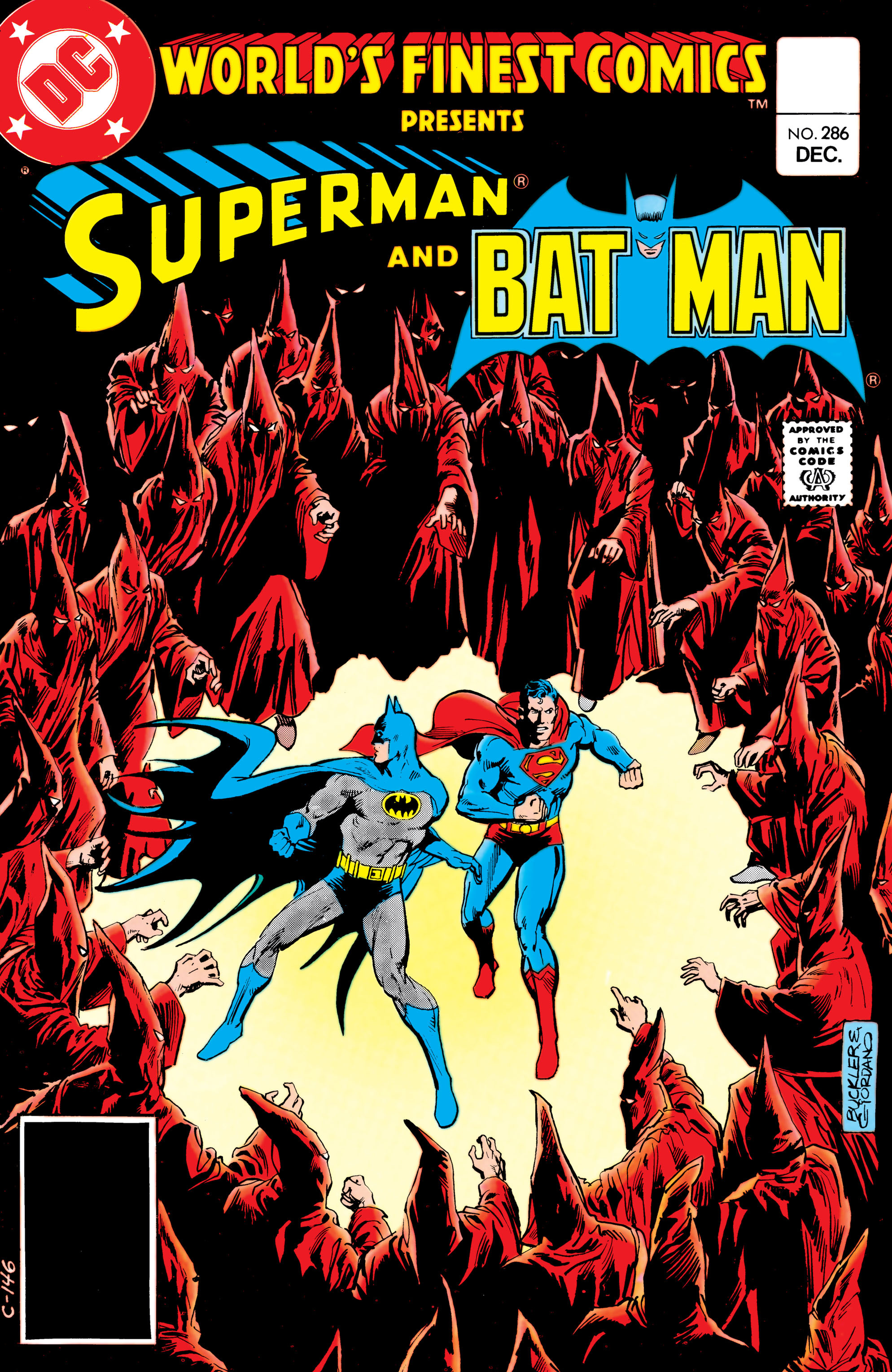 Read online World's Finest Comics comic -  Issue #286 - 1