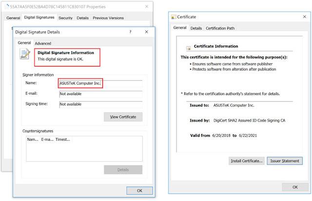 [Cảnh báo] Máy chủ cập nhật phần mềm ASUS bị xâm nhập và sử dụng để phát tán mã độc - Cybersec365.org