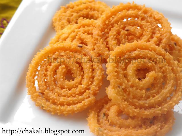 Rice flour chakali, Tandalachya chakalya, Murukku, chakli