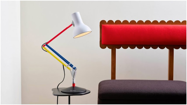 Anglepoise and Paul Smith Type 75 desk lamp