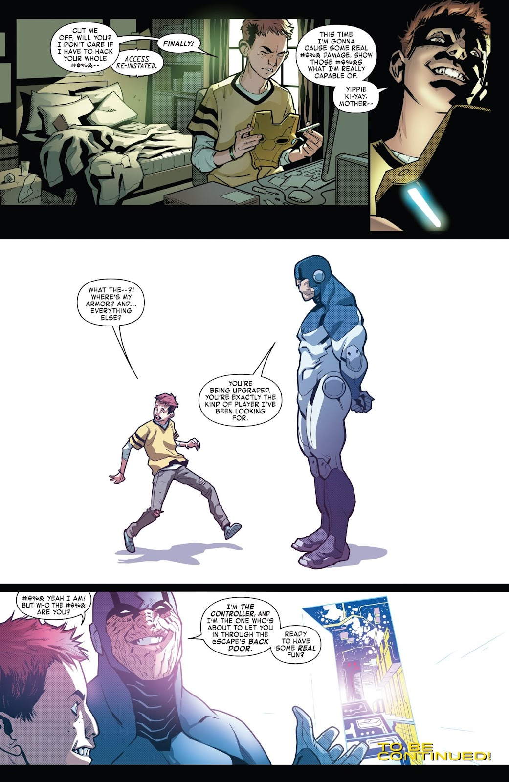 Read online Tony Stark: Iron Man comic -  Issue #6 - 21