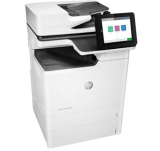 Review And HP Color LaserJet Enterprise MFP one one thousand HP Color LaserJet Enterprise MFP M681dh Drivers