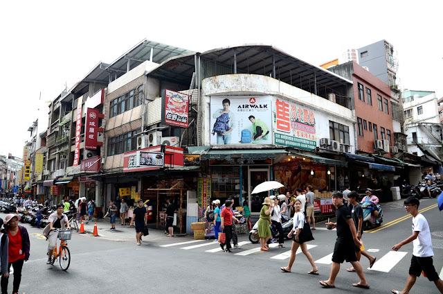타이완 단수이 거리