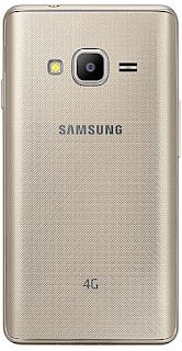 Samsung z2 backside picture