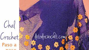 Cómo tejer un chal al crochet / Tutorial