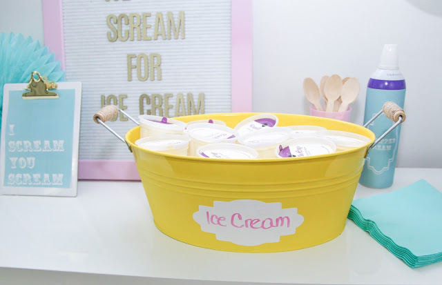 Ice Cream Party with Cricut by popular Florida party blogger The Celebration Stylist