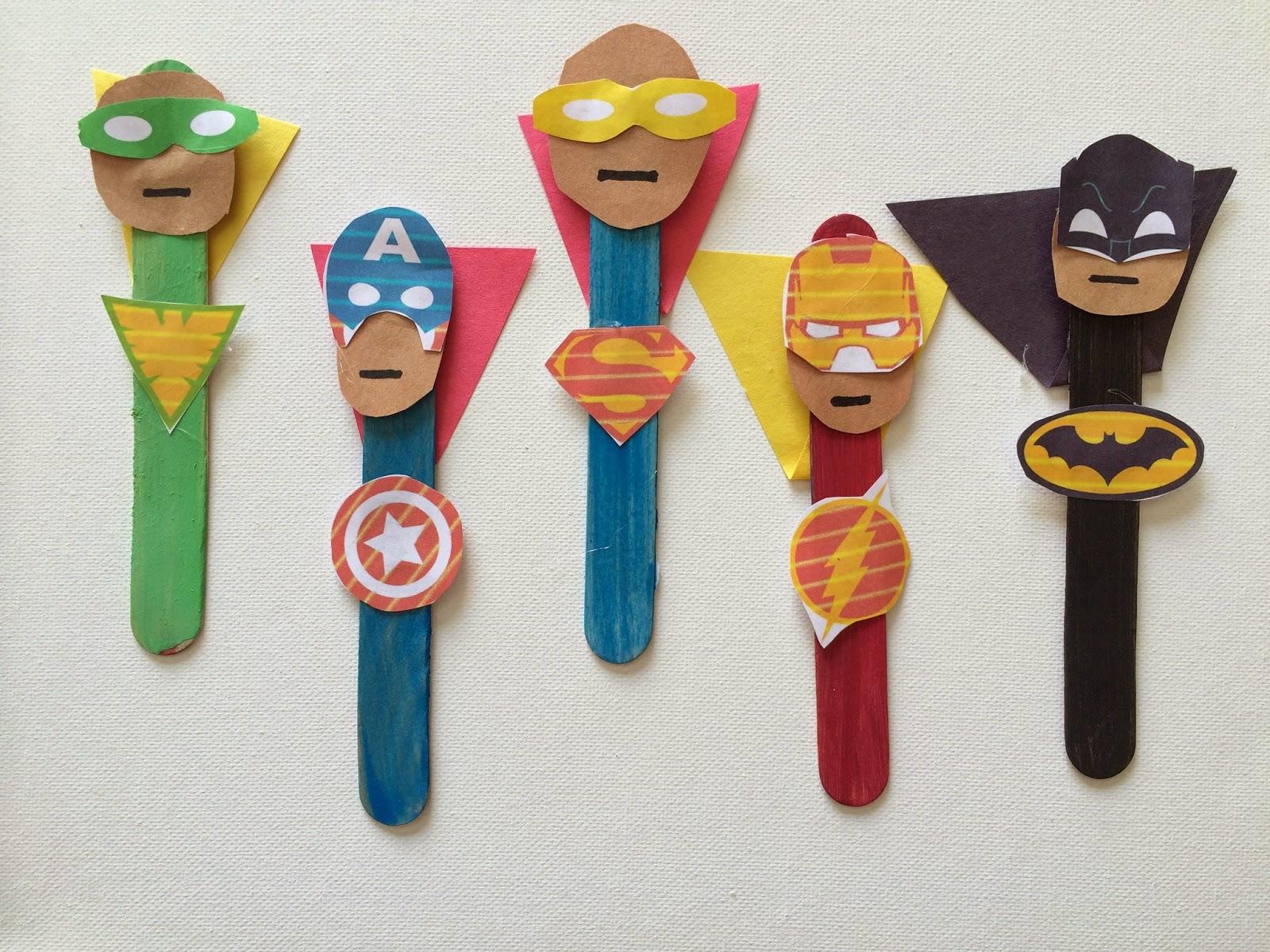 Batman Crafts For Kids